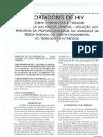 Daniel Sarmento - Portadores de HIV