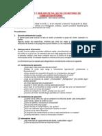 Diagnóstico y Análisis de Fallas de Los Mci
