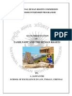 Tamilnadu State Presentation-A.jaswanthi -Nhrc