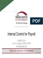 CVIOG Payroll Internal Controls