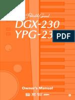 Yamaha DGX-230---YPG-235