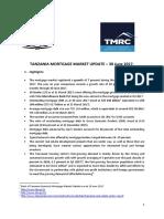 Tanzania Mortgage Market Update 30 June 2017 Final