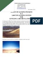 Design Of Jacking Pockets & Jacking System.pdf
