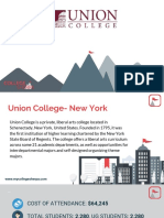 Study Abroad at Union College- New York, Admission Requirements, Courses, Fees