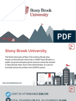 Study Abroad at Stony Brook University, Admission Requirements, Courses, Fees