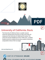Study Abroad at University of California, Davis, Admission Requirements, Courses, Fees