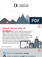 Study Abroad at  University of Oregon, Admission Requirements, Courses, Fees