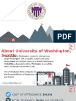 Study Abroad at  University of Washington, Seattle, Admission Requirements, Courses, Fees