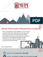 Study Abroad at Worcester Polytechnic Institute, Admission Requirements, Courses, Fees