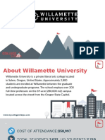 Study Abroad at Willamette University, Admission Requirements, Courses, Fees