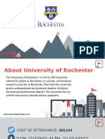 Study Abroad at  University of Rochester, Admission Requirements, Courses, Fees