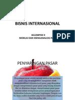 Bisnis Internasional Menilai Dan Menganalisis Pasar