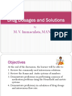 Computation of Drugs and Solutions Edited Version 2014 MVI