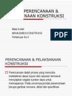 4.Proses Desain & Konstruksi