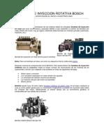 Bomba de Inyección Rotativa Bosch