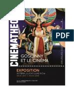 Goscinny et le cinéma à La Cinémathèque française