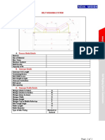 Belt Scale - Conveyor Profile