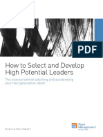 How to Select and Develop High Potential Leaders