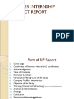 SIP Report Writing Guidelines