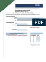 Indzara School Attendance Register and Report- ET0080022010001