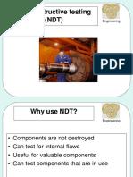 A Non Destructive Testing NDT