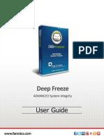 Faronics DeepFreeze  Manual
