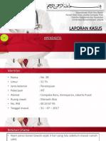 Lapkas App Dr Adriansyah, SpB