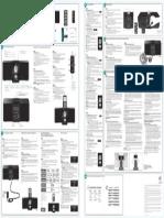 Speaker Logitech Pure Fi Express Plus Manual