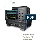 Wavesurfer 510 Operators Manual