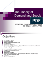 2. Demand, Supply & Market Equilibrium