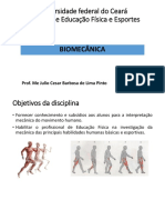 Introdução a Biomecânica - Aula 1