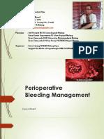 Bleeding Management