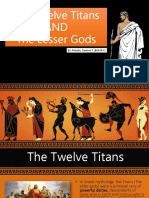 The Titans and the Lesser Gods - Pamate, Z.