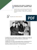 Europeus Assinaram Pactos Com Alemanha Nazista
