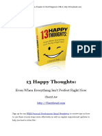 13 Happy Thoughts