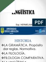 2 Historia de La Linguistica