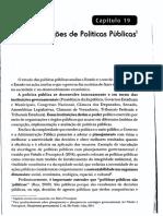 Noções de Políticas Públicas - Paludo