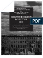 Re-Entry Resource Directory 2010