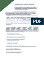 Ejercicios de Reforzamiento Lengua Castellana y Comunicación