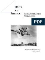 Mechanics Practice Problem Set