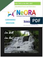 NeORA Conference Brochure 2017 Final