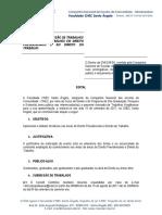 Edital DIR. 018 2017 Mostra Direito Previdenciário
