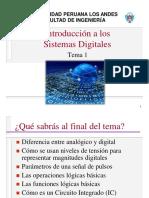 Tema1- Introducción a Los Sistemas Digitales