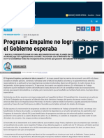 Www Ambito Com 895097 Programa Empalme No Logra Exito Que El