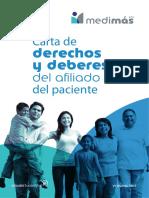 Carta Derechos y Deberes Afiliados Medimas Eps