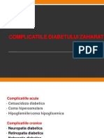 11.Complicatiile Diabetului Zaharat