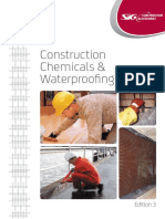 Construction Chemicals Waterproofing Catalogue