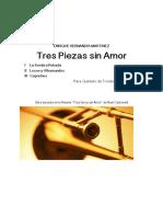 Tres Piezas Sin Amor (E.Hernandis)