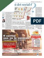 Il Corriere della Sera - Stanchi dei Social?