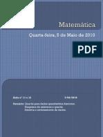 Quartis e Diagrama de Quartis